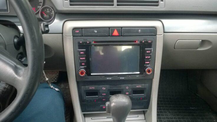 Audi A4 B6-B7 navigasyon multimedya cihazı