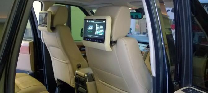 Newfron 9″ araç koltuk başlık monitörü