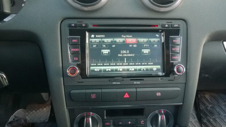 Audi A3 multimedya navigasyon sistemi
