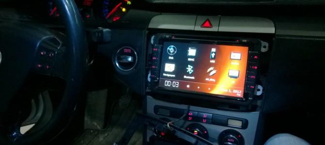 Passat CC Android navigasyon multimedya sistemi