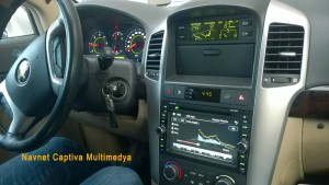 Chevrolet Captiva navigasyon multimedya cihazı
