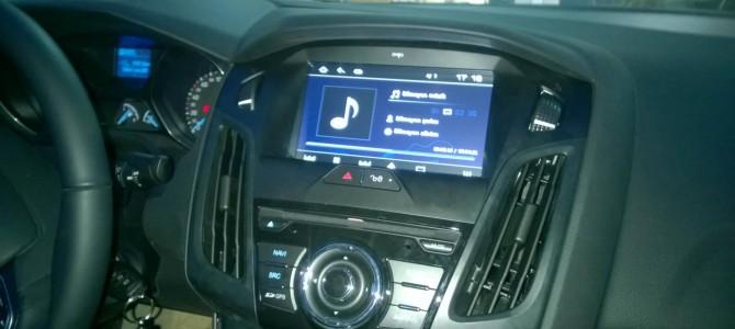 Yeni Ford Focus 3 navigasyon multimedya cihazı