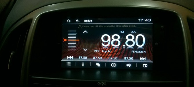 Honda Civic navigasyon multimedya sistemi
