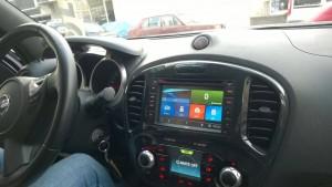 Nissan Juke navigasyon multimedya sistemi