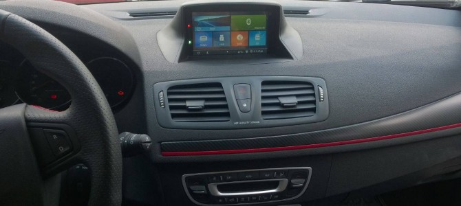 Renault Megane 3 navigasyon multimedya sistemi