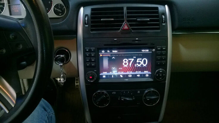 Mercedes B150 navigasyon multimedya cihazı