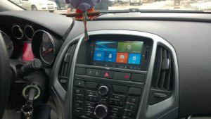 Opel Astra j navigasyon multimedya cihazı