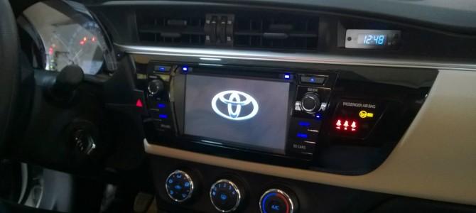 Yeni Toyota Corolla multimedya navigasyon sistemi