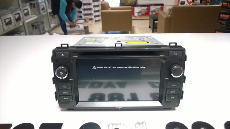 Toyota yeni Auris navigasyon multimedya cihazı