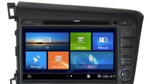 Yeni Honda Civic navigasyon multimedya cihazı 2012-2015
