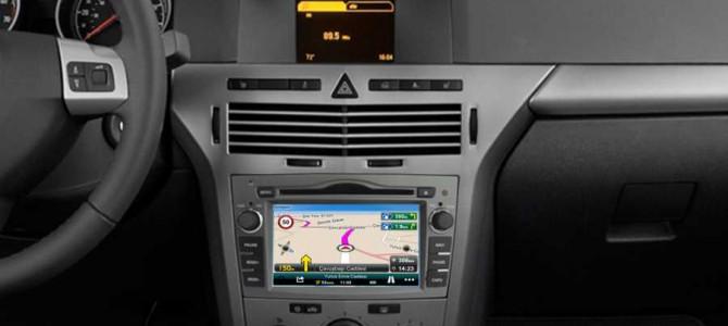 Opel Astra H navigasyon multimedya cihazı